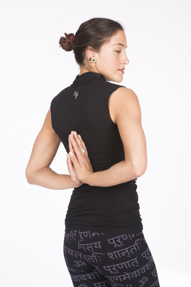 Yoga top Urban Goddess Organic Yoga Wear black