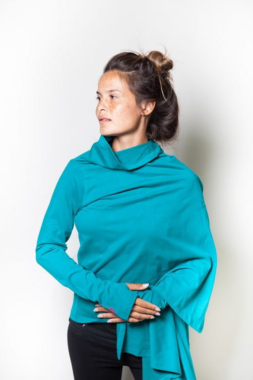 Yoga Wrap top for after your yoga practice