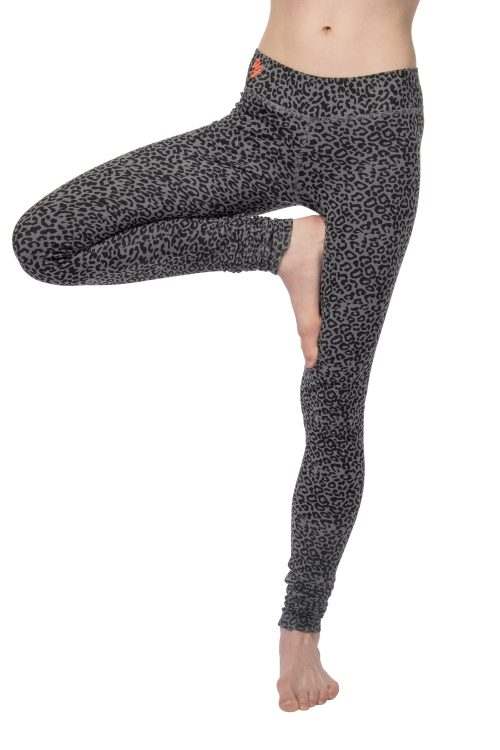 Yoga Legging Bhaktified - Volcanic Glass voorkant2
