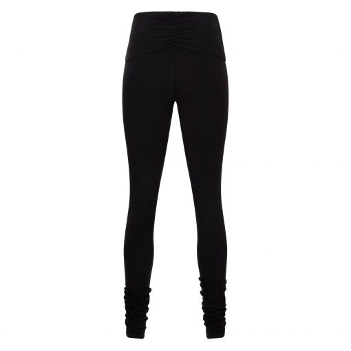 biologische yoga legging Shaktified in Urban Black van Urban Goddess