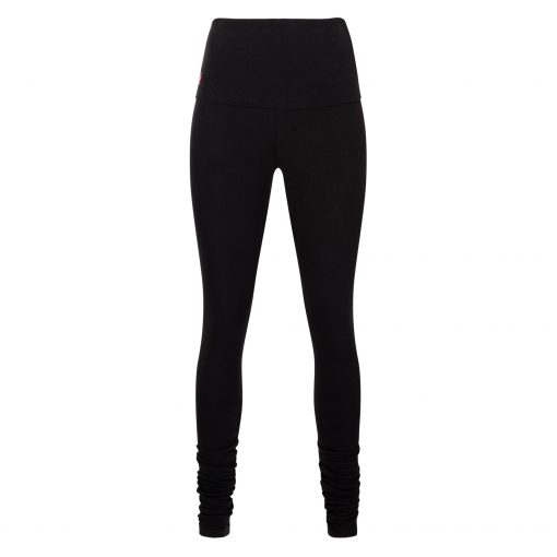biologische yoga legging Shaktified in Urban Black