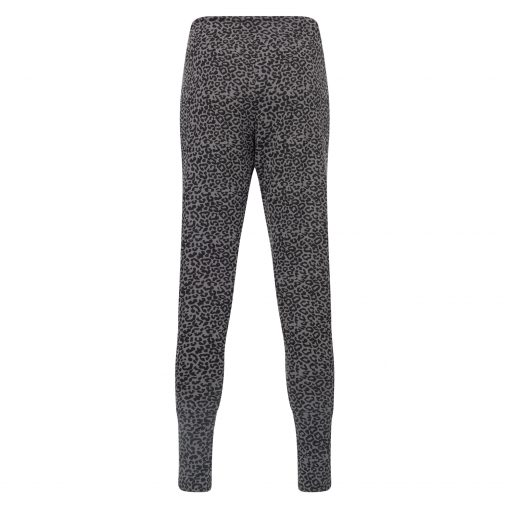 Loose fit yoga broek Life is a Dance - Volcanic Glass leopard