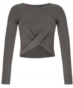Ahimsa Yoga Sweater - Volcanic Glass