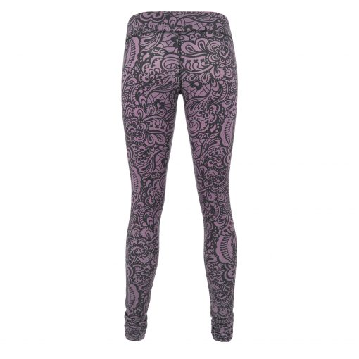 cool yoga leggings Bhaktified Anjali - Jungle Orchid by Urban Goddess