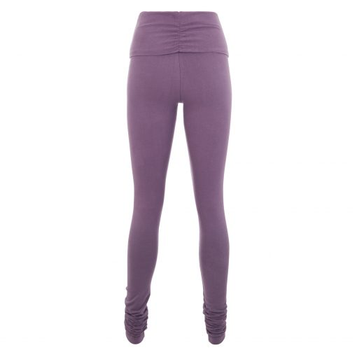 Shaktified omslagband yoga legging in Jungle Orchid van Urban Goddess
