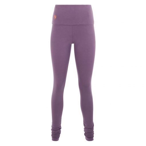 Shaktified omslagband yoga legging in Jungle Orchid
