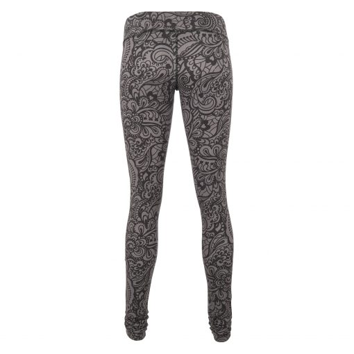 Bhaktified Anjali yoga leggings with print in Volcanic Glass by Urban Goddess yoga wear