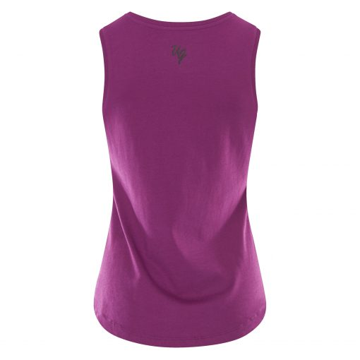 Hippe Yoga Tank Top Just Breathe - Rock Crystal van Urban Goddess