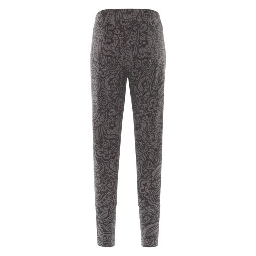 Yoga pants for women Life is a Dance Anjali - Volcanic Glass by Urban Goddess