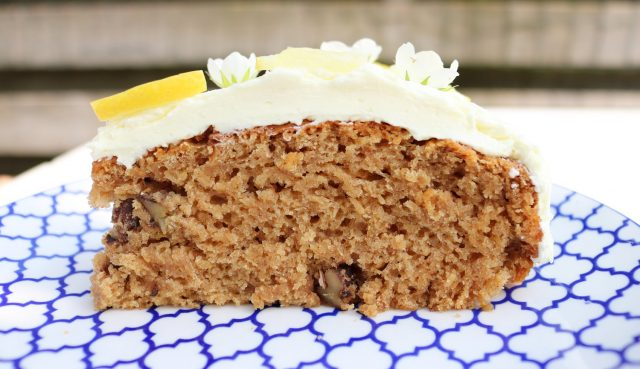 lemon walnut cake by Celina Liya